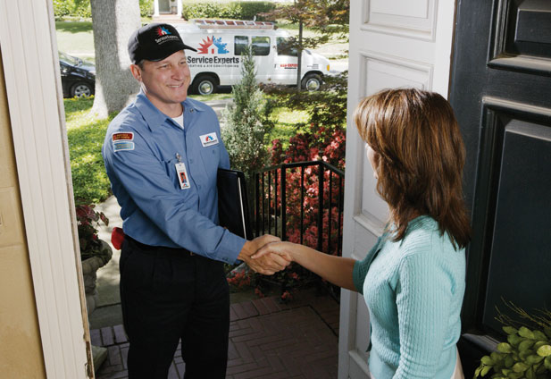 in-home estimate from Comfort Masters Service Experts Heating & Air Conditioning